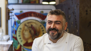 Frank Camorra said the food served by Movida is not the type of food people order for home delivery.