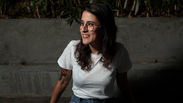 Australian songwriter Sarah Aarons.