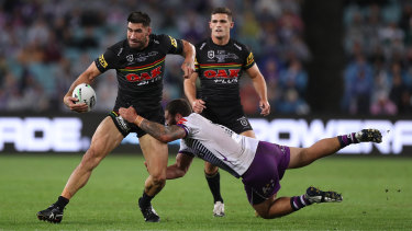 James Tamou impressed plenty of Tigers officials with his conduct during and after the Grand Final.