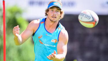 Back on deck: Jesse Parahi is fit to return for Australia.