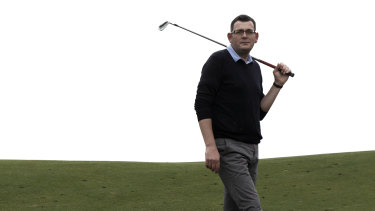 Daniel Andrews has given golf the all-clear.