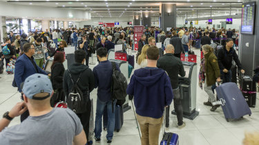Airport delays could be the least of our worries in a cyber war.