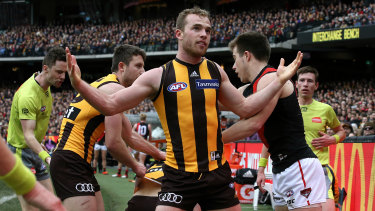 Brownlow medallist Tom Mitchell's absence leaves many question marks over the Hawks this season.