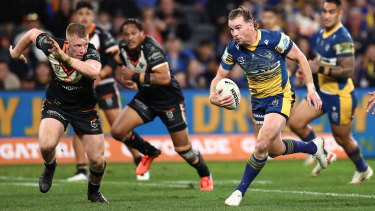 The Eels aren't the same side away from Bankwest Stadium.