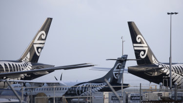 Air New Zealand has been hit harder than Qantas because it relies more on international flying.