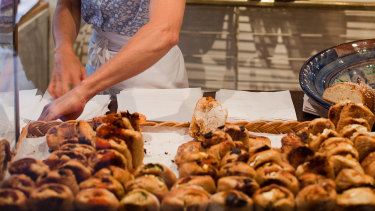 Essential in France: The daily trip to a boulangerie.
