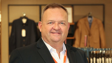 Myer chief executive John King.