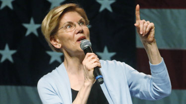 Presidential candidate Elizabeth Warren called Fox News a 'hate-for-profit' machine.