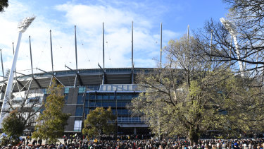 The grand final is staying at 2.30pm  this year.