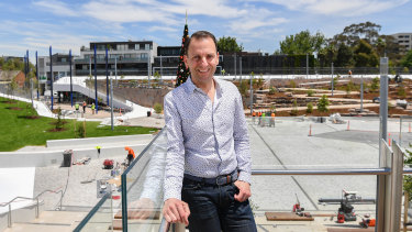 Mayor Steve Stefanopoulos November 2019 The Age News Picture by Joe Armao