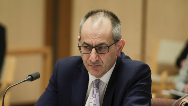 Department of Home Affairs Secretary Mike Pezzullo.