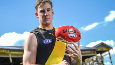 Key Tiger: New forward Tom Lynch.