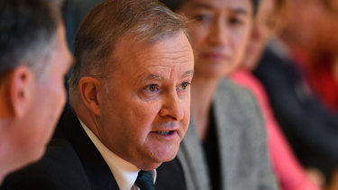 Anthony Albanese: under pressure.