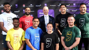 High hopes: NRL CEO Todd Greenberg expects the international nines tournament will be a 'stunning success'.