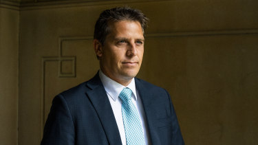 "Ryan Park, a self-described ""working-class boy""  is the NSW shadow treasurer."