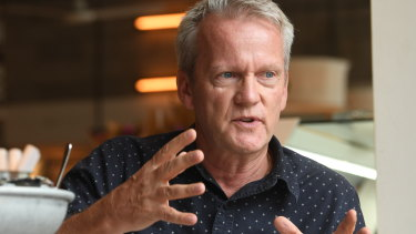 Finnish education expert Pasi Sahlberg says his son Otto's experience in a Sydney school is 'very different to what he had in Finland'.