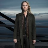 Sofia Helin as Saga Noren in The Bridge.