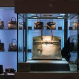 A Hermes Birkin matte Himalayan crocodile handbag sold at auction in Hong Kong for over $US300,000 in 2016.