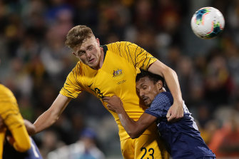 Harry Souttar made his Socceroos debut in 2019, but has gone from strength to strength this season.