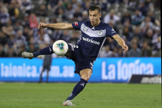 Kristijan Dobras has struggled to have an impact with Melbourne Victory.