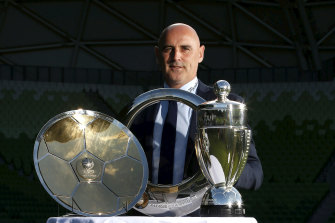 Kevin Muscat enjoyed a successful career at Melbourne Victory as a player and a coach.