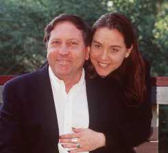 Graeme Russell with his Emily daughter Emily.