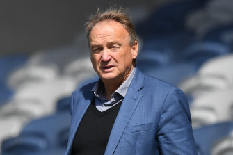 Geelong CEO Brian Cook has extended his contract with the club for another two years.