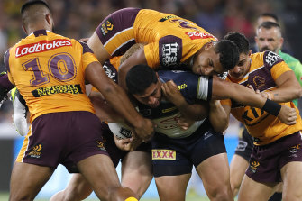 The NRL wants less of the dreaded wrestle when the competition resumes on May 28.