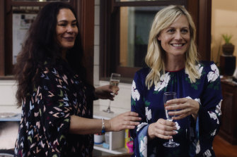 Rachel House and Marta Dusseldorp in Ellie & Abbie (& Ellie's Dead Aunt).