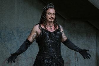 Teddy Tahu Rhodes as Mephistopheles for Opera Australia's Faust.