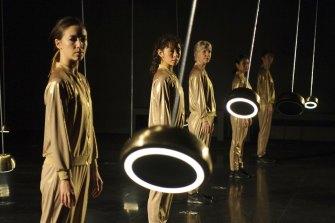 An incredible ensemble of dancers.