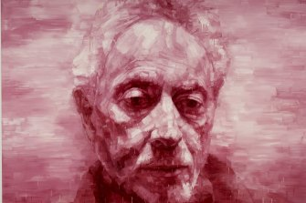 Adam Chang's portrait of J.M. Coetzee won the People's Choice award in the 2011 Archibald Prize.
