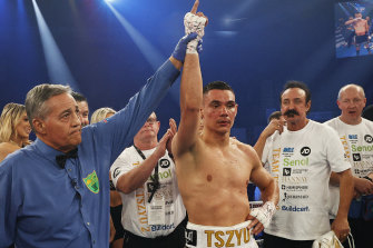 Tim Tszyu appears on a collision course with former world champion Liam Smith.