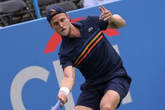 American Denis Kudla has tested positive for COVID-19 during a qualifying tournament for the Australian Open.