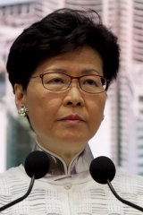 Lam has said she decided to pursue the extradition law herself, without prodding from Xi or other Chinese leaders.