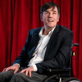 Tim Ferguson is returning to Perth with his show, A Fast Life On Wheels.
