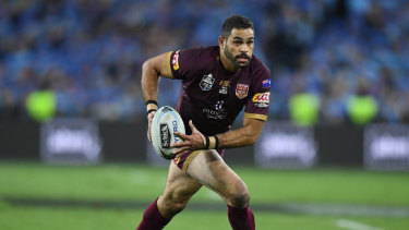 Maroon man: Inglis' choice of state made him public enemy No. 1 in NSW but he dominated Origin like few others.