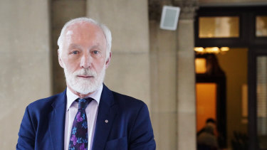 Professor Patrick McGorry, a world-leading researcher in youth mental health.