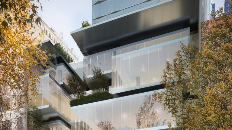 IHG will open a voco hotel in the 380 Lonsdale Street tower.