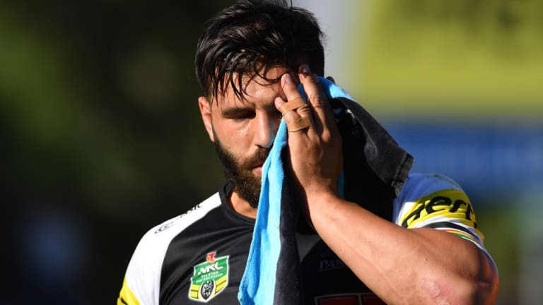 Sidelined: Josh Mansour will undergo surgery on Friday morning.