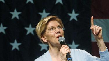 Elizabeth Warren calls for Trump's impeachment, Romney 'sickened'