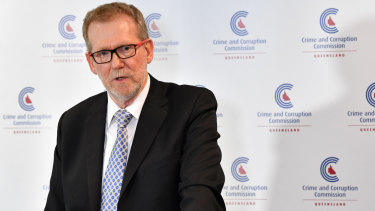 Mr MacSporran said the state government decided to legislate the sacking of Ipswich City Council and the CCC remained independent and focused on their investigation.