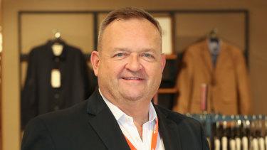 Myer chief executive John King.