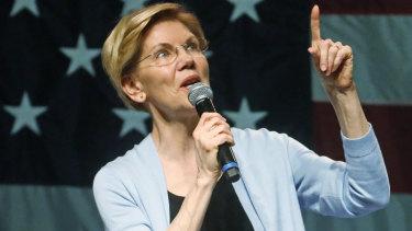 Democrat presidential candidate Elizabeth Warren has called for the break-up of Facebook.