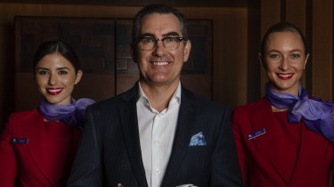 Paul Scurrah, Virgin Australia's new CEO, is cutting 750 head office jobs as the first cut at a bloated $6 billion cost base.