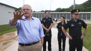 Prime Minister Scott Morrison reopened the Christmas Island detention centre last month.