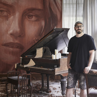 Almost 30,000 Melburnians visited Burnham Beeches during Rone's immersive exhibition.