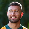 Quade Cooper will play his first Test in more than four years on Sunday.