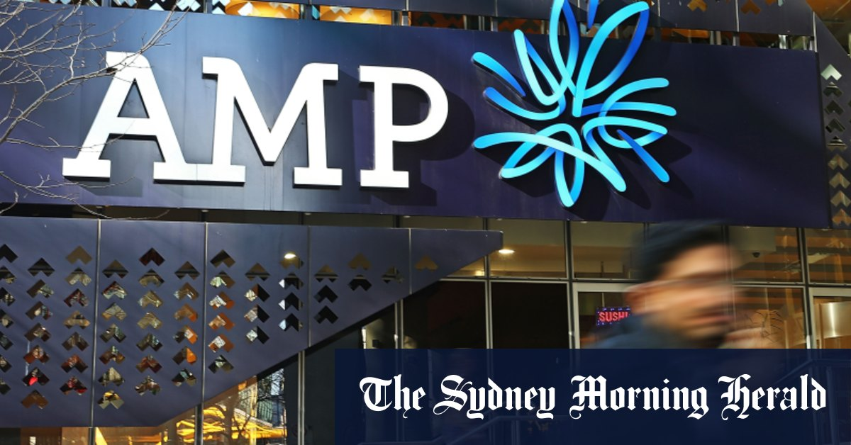 AMP receives takeover bid from US private equity firm Ares – Sydney Morning Herald