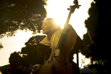"""Musician Josephine Vains: """"This is my way of feeling like I'm continuing to do what I always do. We all need something to look forward to. Something to do and hear. Together."""""""